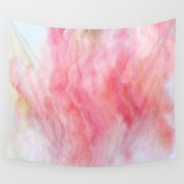 Rose Mineral Marbled Agate Wall Tapestry
