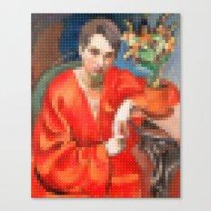 Lego : Orkidéer. Canvas Print