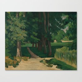 The Avenue at the Jas de Bouffan Canvas Print