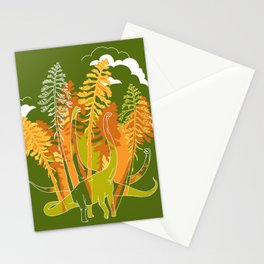 Brachio Grove Stationery Cards
