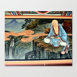 Life of Buddha Canvas Print
