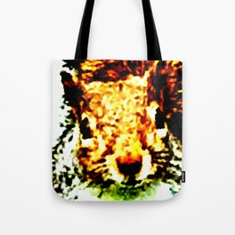 The other faces of Squirrel 1 Tote Bag