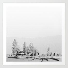 Esplanade 2/2 Art Print