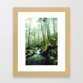 The Secrets of a Flowing Creative Mind Framed Art Print