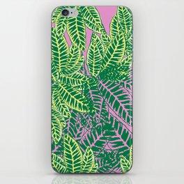 Zebra Plant  iPhone Skin
