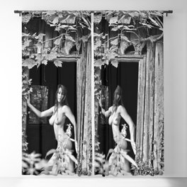 Nude Photography by Mary Bassett Blackout Curtain