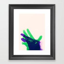Reaching 02 Framed Art Print