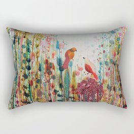 la romance Rectangular Pillow