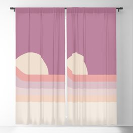 Lilac Rainbow Dipper Blackout Curtain