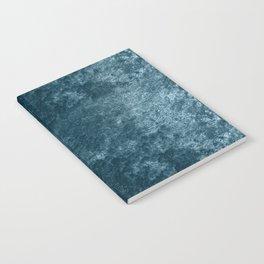 Peacock teal velvet Notebook