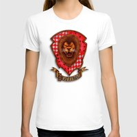 gryffindor T-shirts featuring Gryffindor shield emblem by JanaProject