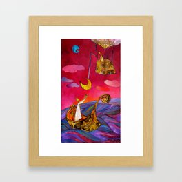 Between Earth and Sky – Home 1 Framed Art Print