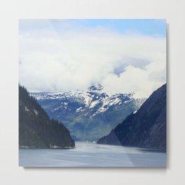 Alaskan Outdoors Metal Print