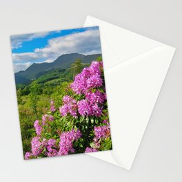 Rhododendrons on West Highland Way Stationery Cards