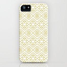 Boho Campfire - Gold iPhone Case