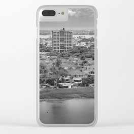 Guayaquil Aerial View from Window Plane Clear iPhone Case