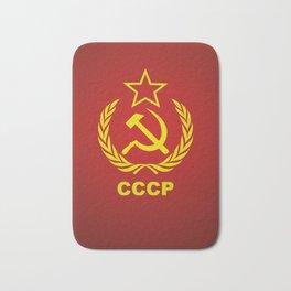 CCCP Cold War Flag Bath Mat