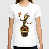 groot T-shirts featuring Groot by Anna Shell