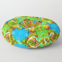 sea of tranquility Floor Pillow