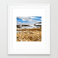 iceland Framed Art Prints featuring iceland by Matthias Hennig