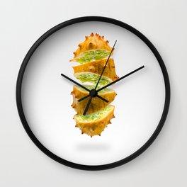 Flying Kiwano Wall Clock