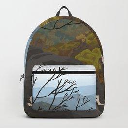 Shenandoah National Park, Virginia, Shenandoah River, Retro Vintage Style Poster Backpack