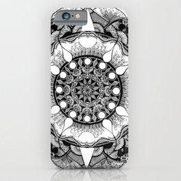 mandala 3 iPhone Case