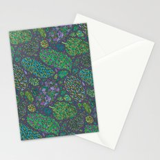 Nugs in Green Stationery Cards