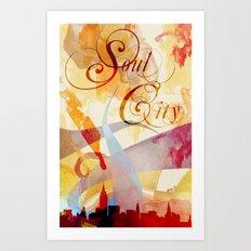 Soul City Art Print