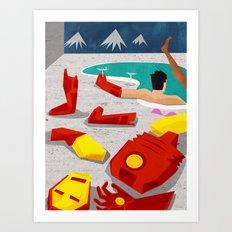 Iron-Mod Art Print