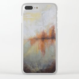 In Time Clear iPhone Case