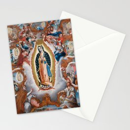 Virgin of Guadalupe, 1779 - Mexican Artwork Stationery Cards