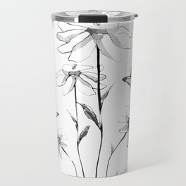 Flowers and butterflies 2 Travel Mug