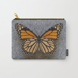 Monarch Butterfly Beneath Carry-All Pouch