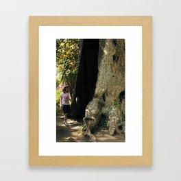 Fairy in a Tree! Framed Art Print