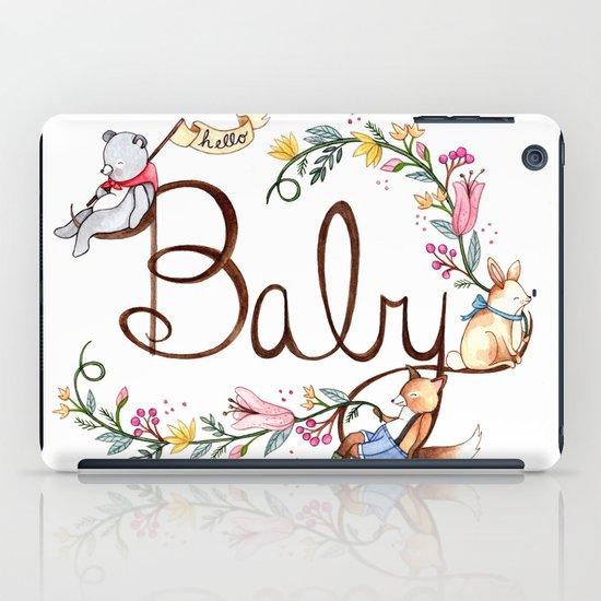 Hello Baby iPad Case