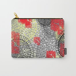 lace doilies abstract Carry-All Pouch