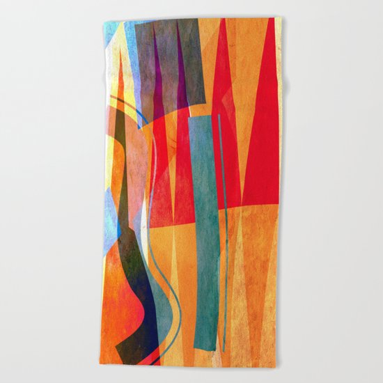 Towers Beach Towel