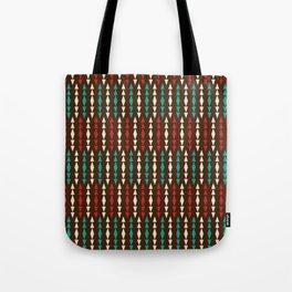 Tribal Stripe Tote Bag