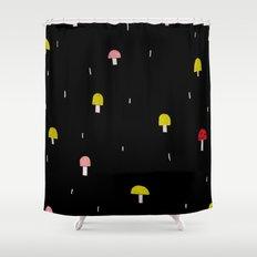 shroomies Shower Curtain