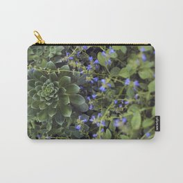Succulent Smitten Carry-All Pouch