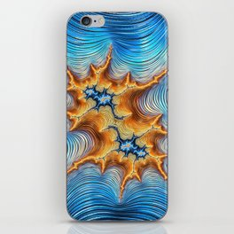Abstract Lava Flows iPhone Skin