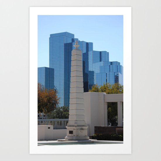 Dealey Plaza Art Print