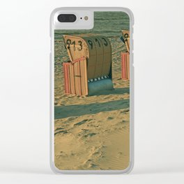 The lonesome four Clear iPhone Case