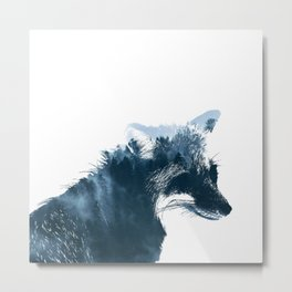 Fox Forest Metal Print