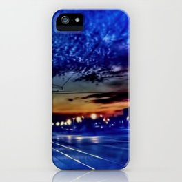 Morning Travel in Kenosha iPhone Case