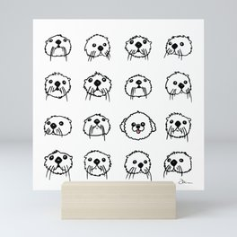 One of These Things Is Not Like the Otter Mini Art Print