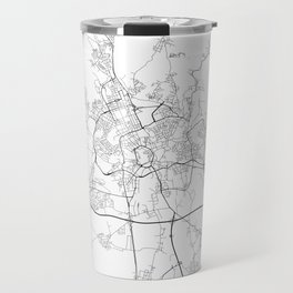 Minimal City Maps - Map Of Brno, Czech Republic. Travel Mug