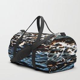 Sea water natural pattern Duffle Bag
