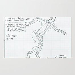 Get Set Drawing, Transitions through Triathlon Rug